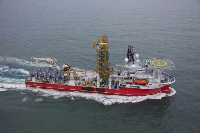 TECHNIP – Dépose de Pipeline en mer